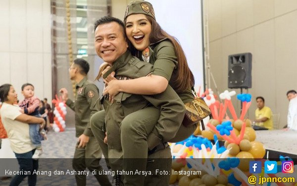 Anang Hermansyah Bangga Ashanty Akhirnya Lulus Sdua Jpnn Com