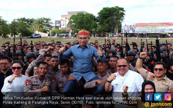 Trimedya Panjaitan Digeser, Herman Hery PDIP Jadi Wakil Ketua Komisi III DPR - JPNN.com