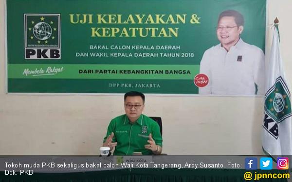 Kader Muda PKB Ini Siap Bersaing di Pilwako Tangerang - JPNN.com