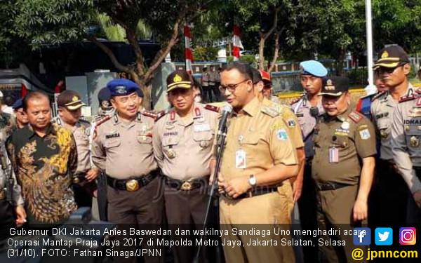Anies Sampaikan Terima Kasih pada Polda Metro Jaya - JPNN.com
