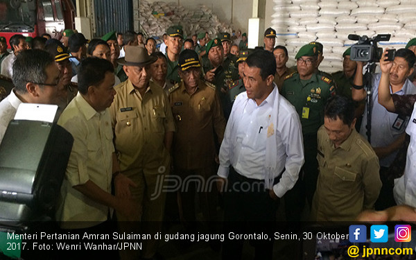 Sekali Waktu Bersama Menteri Pertanian Indonesia... - JPNN.COM
