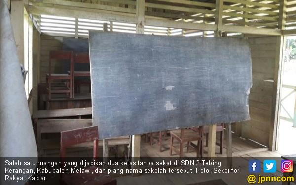 Ya Ampuuun, Gedung SD Negeri Ini Parah, di Indonesia Bung! - JPNN.COM