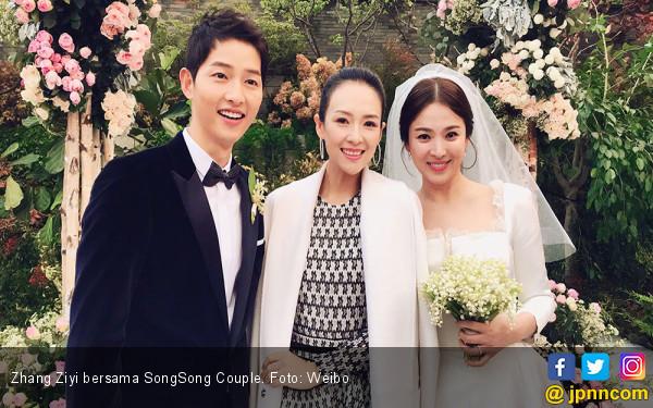 Aktris Tiongkok Juga Hadiri Pernikahan SongSong Couple - JPNN.com