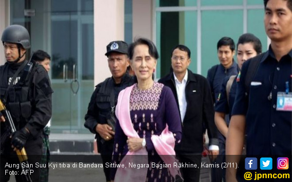 Utusan Khusus PBB: Aung San Suu Kyi Harus Disanksi - JPNN.COM
