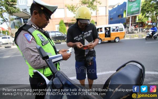Polantas Dilarang Sembunyi Tunggu Pengendara Lewat - JPNN.COM
