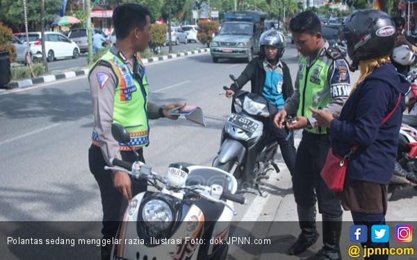 Surat Kendaraan Polisi Harus Lengkap Sebelum Operasi Zebra - JPNN.COM