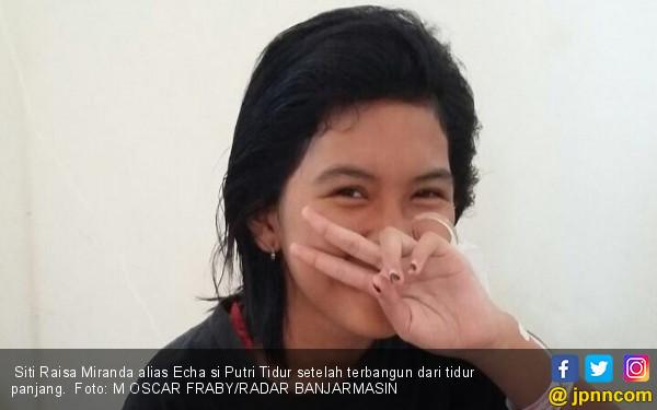 Echa Si Putri Tidur Sudah Ceria, Ungkapkan Keinginannya - JPNN.COM