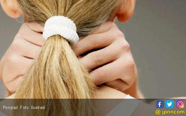 Hati-hati Menguncir Rambut Terlalu Kencang - JPNN.COM