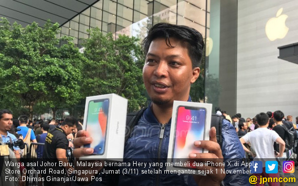 Rela Antre 3 Hari demi Bawa Pulang 2 iPhone X - Internasional JPNN.com fffeb0bcd3