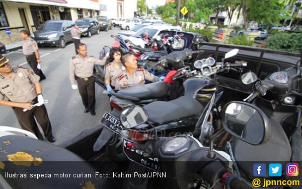 Setahun Beraksi, Komplotan Pencuri Berhasil Gondol Ratusan Motor - JPNN.com