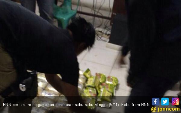 BNN Gagalkan Peredaran 30 Kg Sabu-Sabu di Aceh Tamiang - JPNN.COM