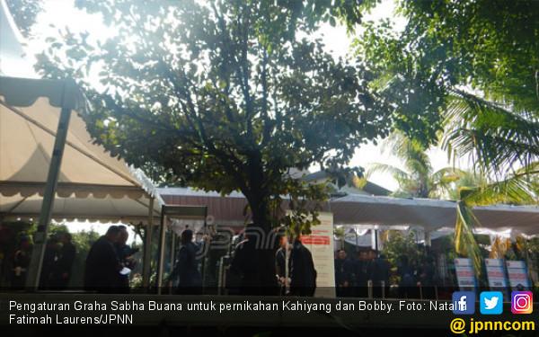 Paspampres Mulai Atur Keamanan di Gedung Pernikahan Kahiyang - JPNN.COM