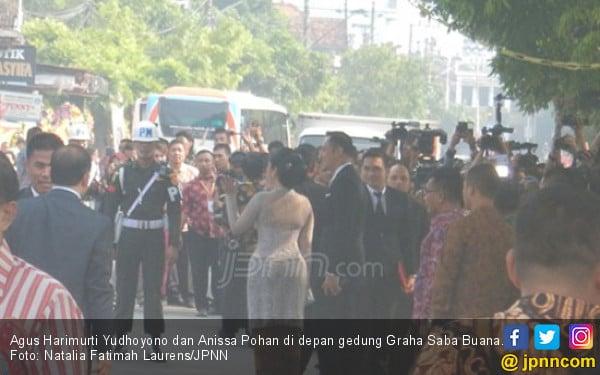 Tamu Kahiyang Gak Kuat Lihat Wajah Agus Yudhoyono dan Ganjar - JPNN.COM