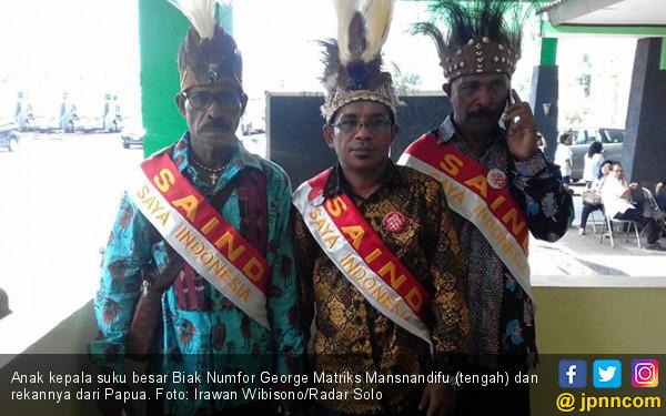 Demi Kahiyang Ayu, 12 Warga Papua Rela Keluar Uang ke Solo - JPNN.COM