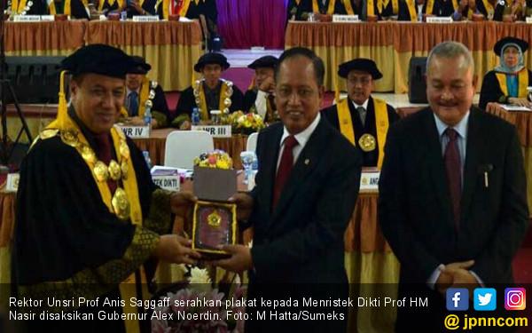 Mendristekdikti Dorong Unsri Ikuti Jejak Politeknik Batam - JPNN.COM