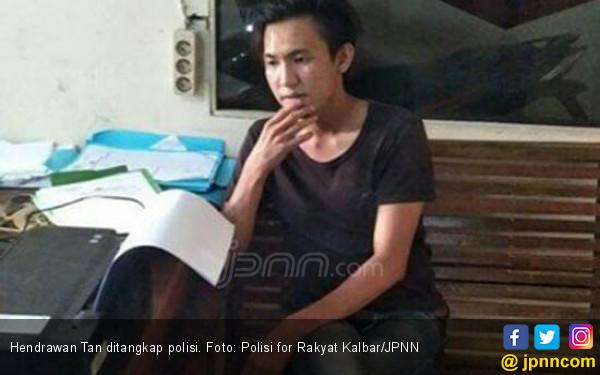Namanya Hendrawan Tan, Hobinya Memaki Polisi - JPNN.COM