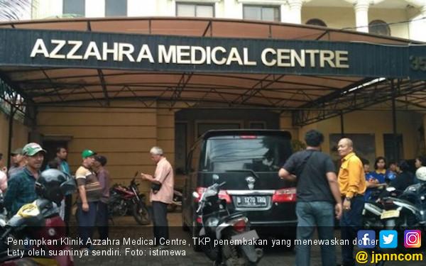 Penembakan di Klinik Azzahra Ternyata Terkait Perceraian - JPNN.COM