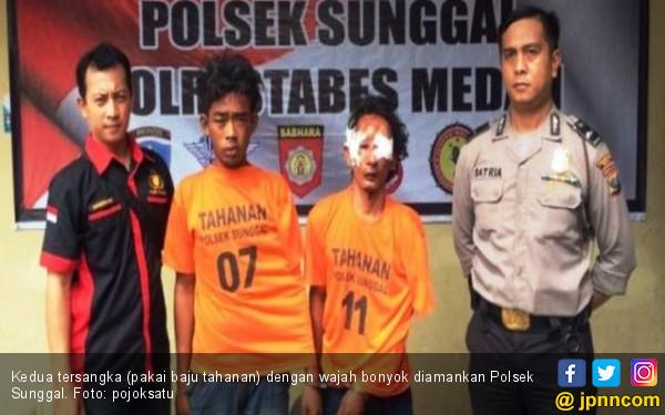 Sekap 2 Mahasiswi Cantik di Kamar, 2 Pemuda Ini Babak Belur - JPNN.COM