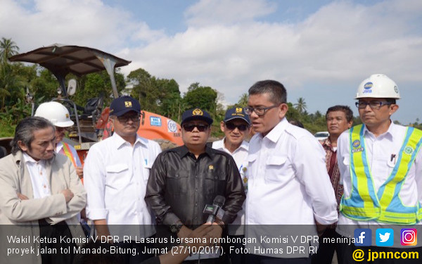 Tol Manado-Bitung Terancam Gagal Selesai 2019 - JPNN.COM