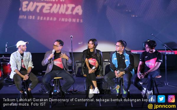 Telkom Lahirkan Gerakan Democracy of Centennial - JPNN.COM