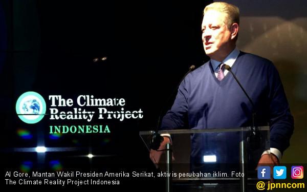 Al Gore Apresiasi Program Climate Reality Project Indonesia - JPNN.COM