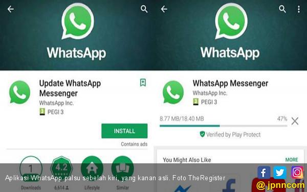 Muncul WhatsApp Palsu, Google dan Sejuta Pengguna Tertipu - JPNN.COM