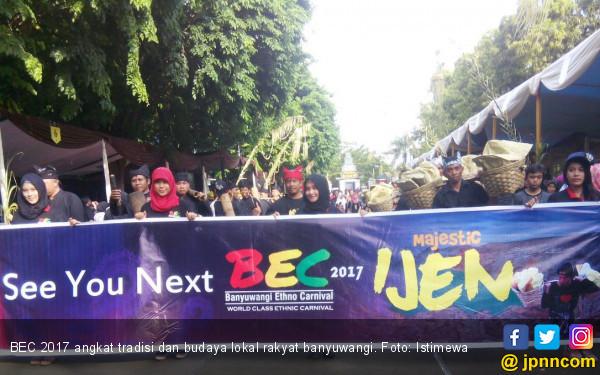 BEC 2017 Angkat Tradisi dan Budaya Rakyat Banyuwangi - JPNN.com