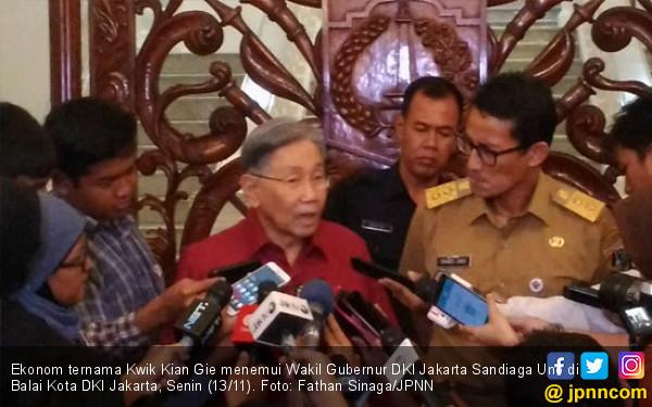Dikunjungi Pentolan PDIP, Sandi Semringah - JPNN.COM