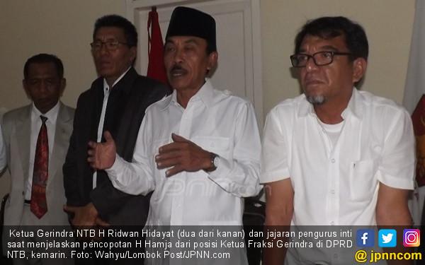 Gerindra Pecat Ketua Fraksi Penolak Gelar Pahlawan Tokoh NTB - JPNN.COM