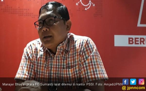 Sumardji Luruskan Tudingan Meludahi Robert Alberts Usai Laga Bhayangkara FC Vs Persib - JPNN.com