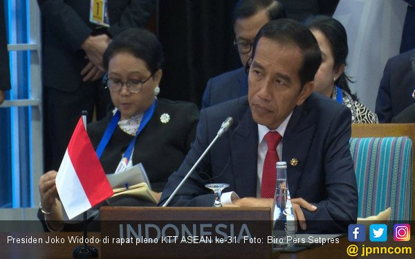 Tanpa Sebut Rohingya, Jokowi Bicara Soal Krisis di Myanmar - JPNN.COM