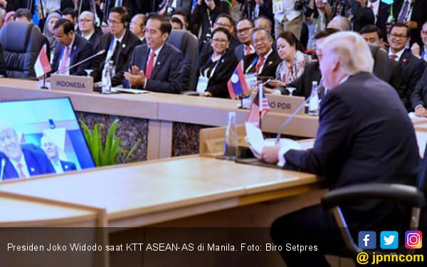Di Depan Donald Trump, Jokowi Bilang ASEAN Penting Buat AS - JPNN.COM