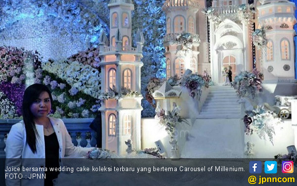 Kemegahan Carousel of Millenium Dalam Bentuk Kue - JPNN.COM