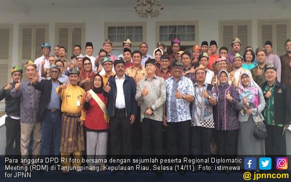 DPD Jual Potensi Daerah ke Luar Negeri Lewat RDM di Bintan - JPNN.COM