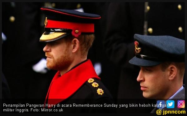 Brewok Pangeran Harry Bikin Kalangan Militer Kecewa - JPNN.COM