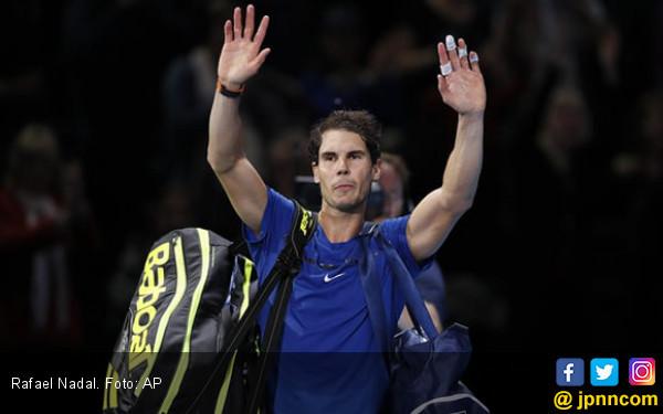 ATP Finals: Federer Mulus, Nadal Mundur - JPNN.COM