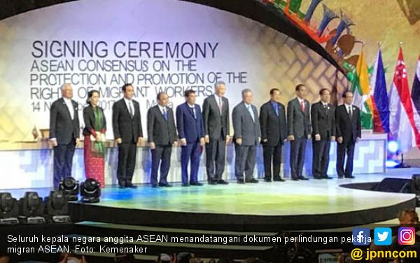 ASEAN Sepakati Konsensus Perlindungan Pekerja Migran - JPNN.COM