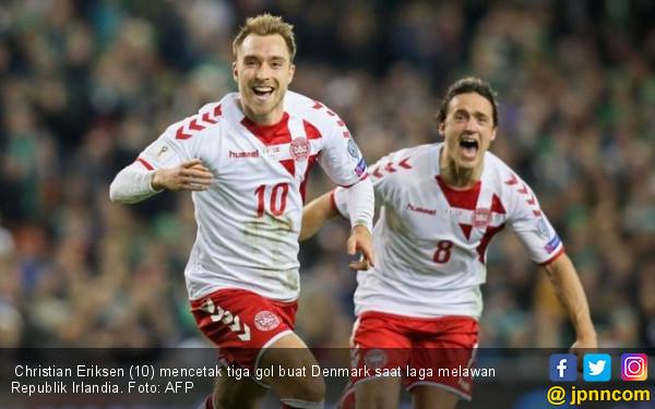 Tim Dinamit Denmark jadi Negara ke-30 Lolos Piala Dunia 2018 - JPNN.COM