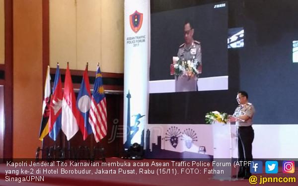 Tito Karnavian Pamer Prestasi di Forum Polantas Asean - JPNN.COM