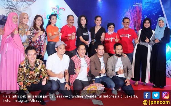 Puluhan Bisnis Artis Kekinian Co-Branding Wonderful Indonesa - JPNN.COM