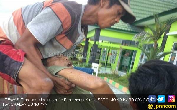 Pria Berkaus Brimob Gantung Diri di Belakang Warung - JPNN.COM