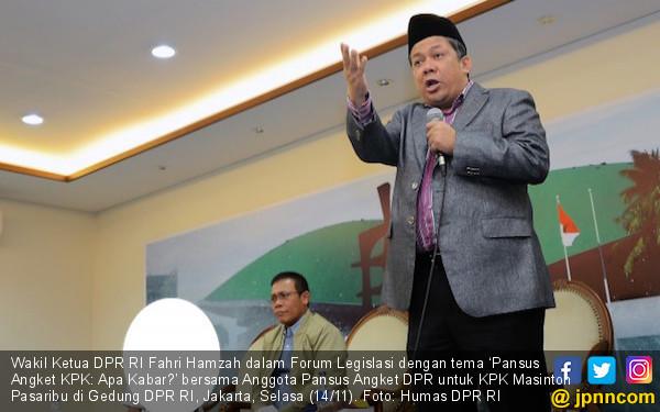 Fahri Hamzah Ingatkan Presiden Jangan Mau Diseret KPK - JPNN.COM