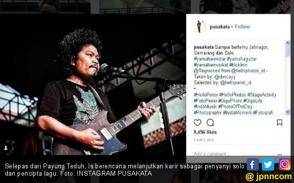 Is Eks Payung Teduh Sumbang Suara di Konser Karunia Semesta - JPNN.COM