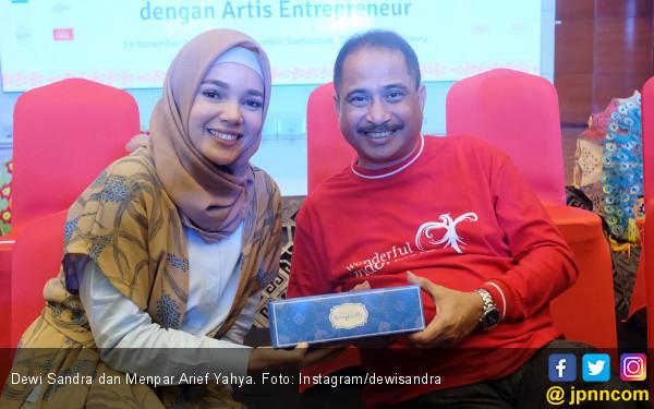Wingkorolls Dewi Sandra Ikut Di-Branding Wonderful Indonesia - JPNN.com