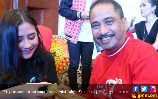 Usai Co Branding, Prilly Ajak Eksplore Wisata Indonesia - JPNN.com