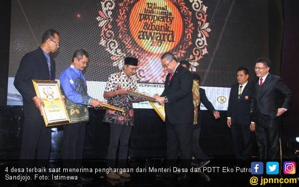 Mendes Beri Penghargaan Abpednas Award pada 4 Desa Terbaik - JPNN.com