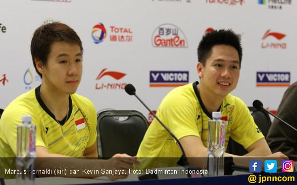 Marcus/Kevin Incar Juara Dubai World Superseries Finals - JPNN.com