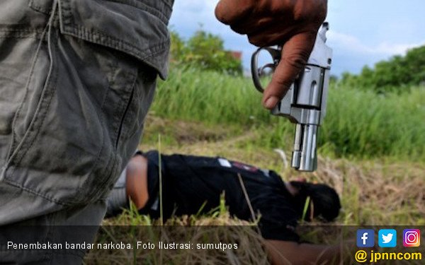 Lagi, Polisi Tembak Mati Bandar Narkoba di Medan - JPNN.com