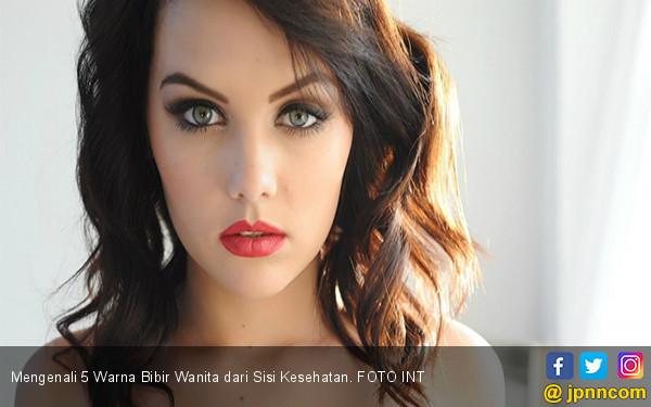 Mengenali 5 Warna Bibir Wanita dari Sisi Kesehatan - JPNN.COM