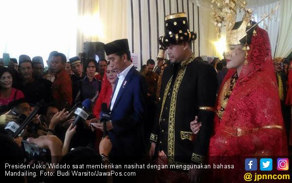 Jokowi: Holong Do Maroban Domu, Domu Maroban Parsaulian - JPNN.com